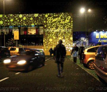 dynamische Weihnachtseffekte IKEA