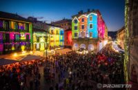 Weihnachts-Projektionen - Como Magic Light Festival