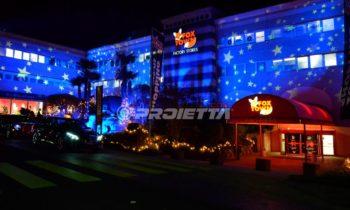 Weihnachten thematische dekorative Projektionen