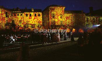 Dekorative Gemälde mit mittelalterlichen Motiven
