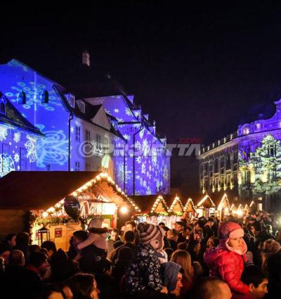 Weihnachtsprojektoren für Märkte und Veranstaltungen