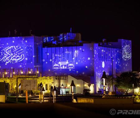Feierliche Projektionen Ramadan - Doha