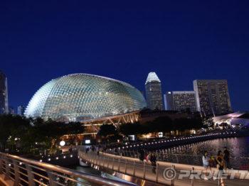 Singapore proiezioni Proietta per l'evento Gran Premio F1