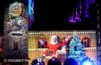 Videomapping Como Magic Light festival 2018