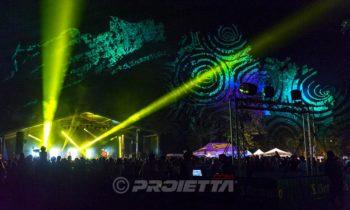 Proiezioni per eventi e concerti